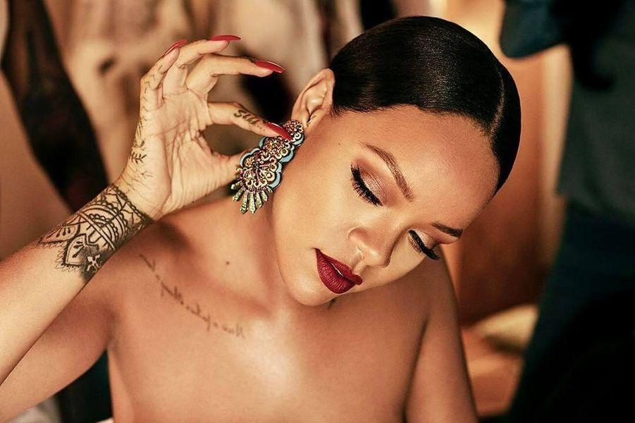 Rihanna au Festival de Cannes 2017 pour Chopard