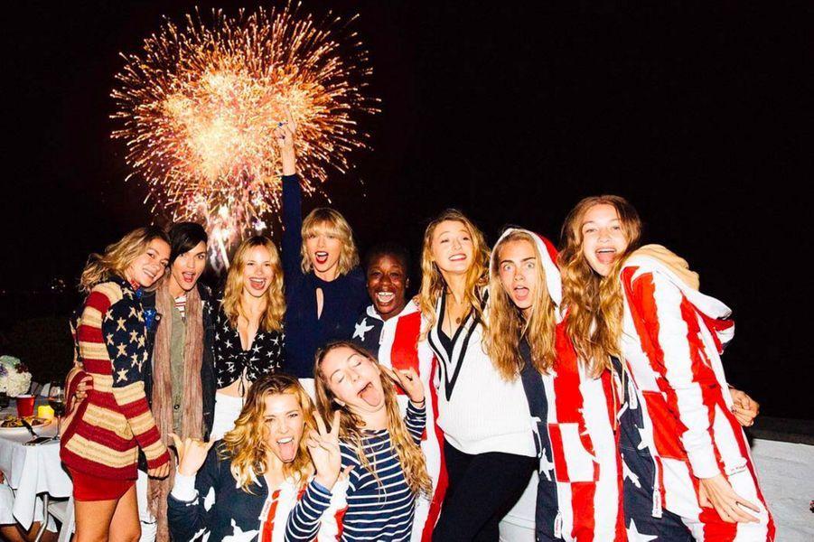 Le gang de Taylor Swift pour le 4 juillet