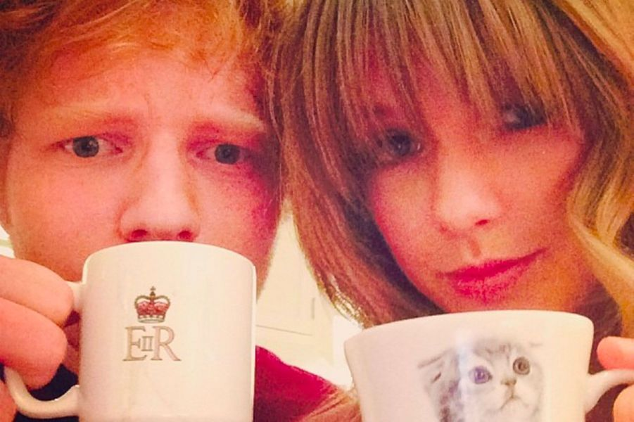 Taylor Swift et Ed Sheeran