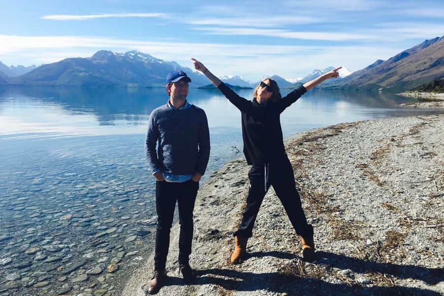 Taylor Swift et son frère, Austin Kingsley Swift