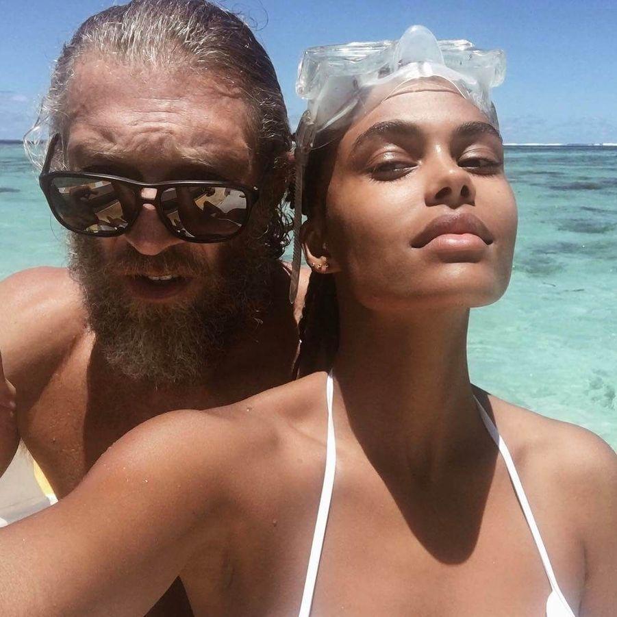 Tina Kunakey et Vincent Cassel.