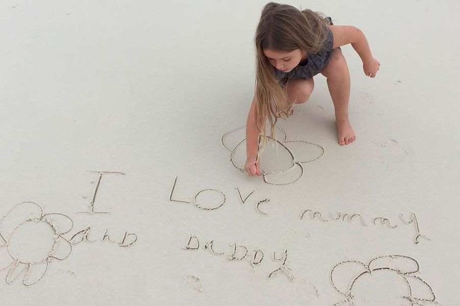 Harper, la fille deVictoria Beckham