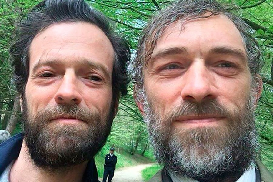 "Vincent Cassel et Romain Duris en ""face swap"""