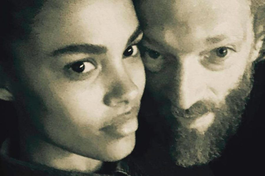 Vincent Cassel et Tina Kunakey