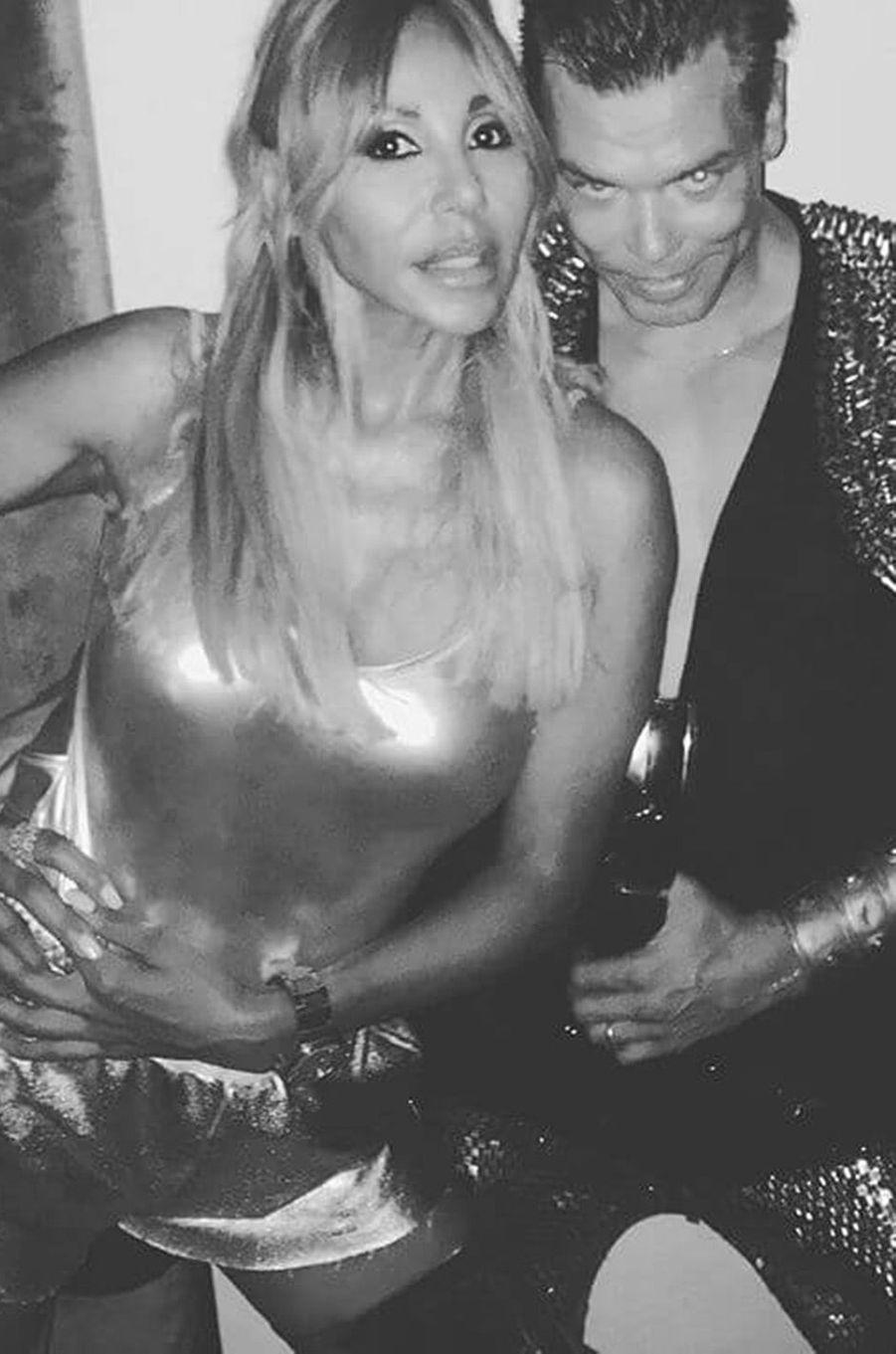Cathy Guetta et Marcus Piggott à Ibiza