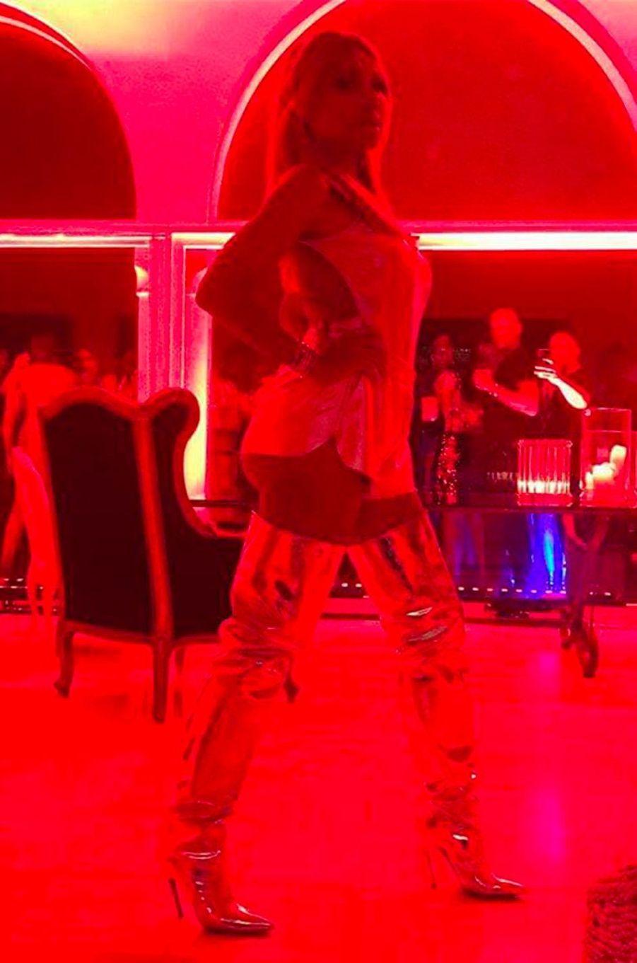 Cathy Guetta à Ibiza