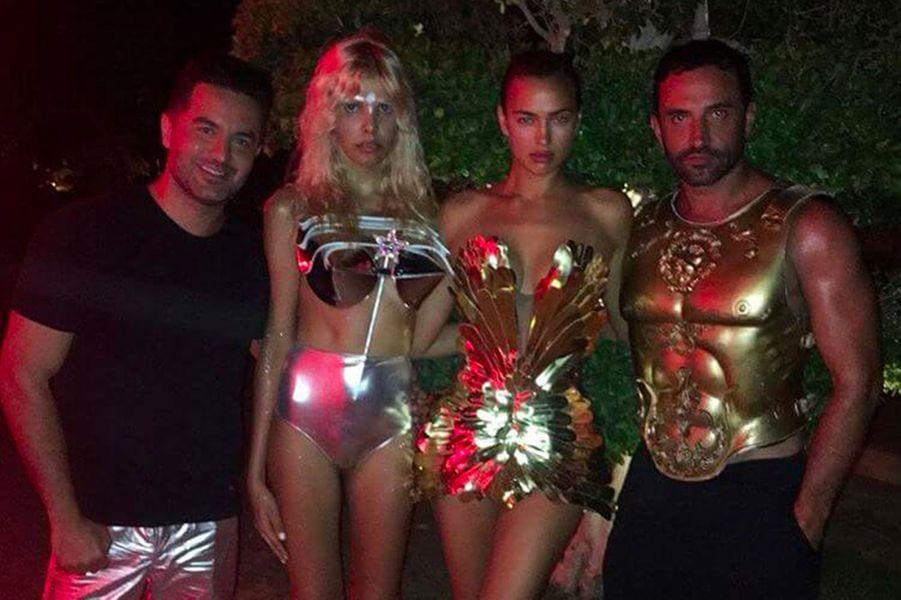 Irina Shayk à Ibiza