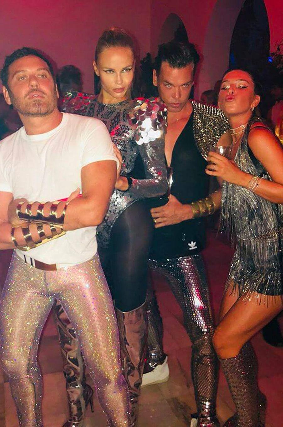 Natasha Poly avec Marcus Piggott et Mert Alas