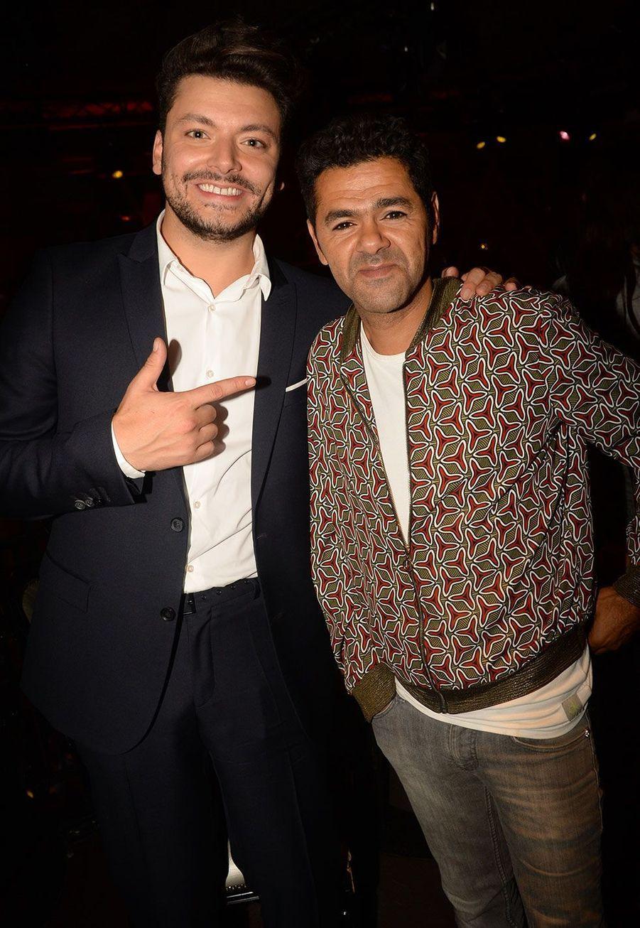 """Kev Adams et Jamel Debbouze à l'after-party de la première du film """"Alad'2"""""""