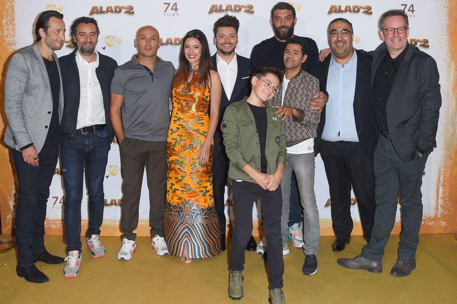 """L'équipe du filmKev """"Alad'2"""""""