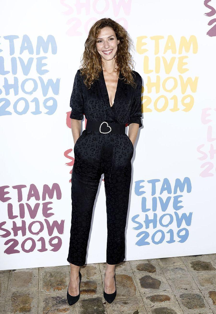 Doria Tillierau défilé de la marque Etam à Roland-Garros à Paris le 24 septembre 2019