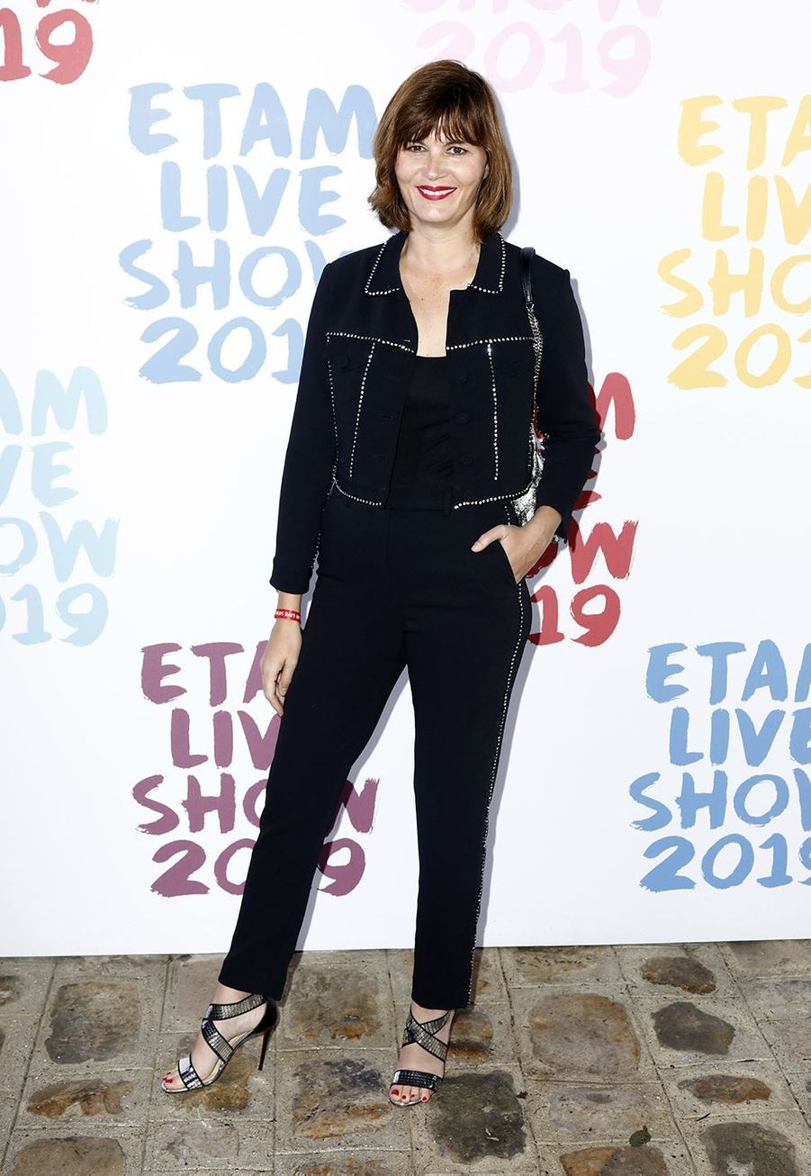 Marina Handsau défilé de la marque Etam à Roland-Garros à Paris le 24 septembre 2019