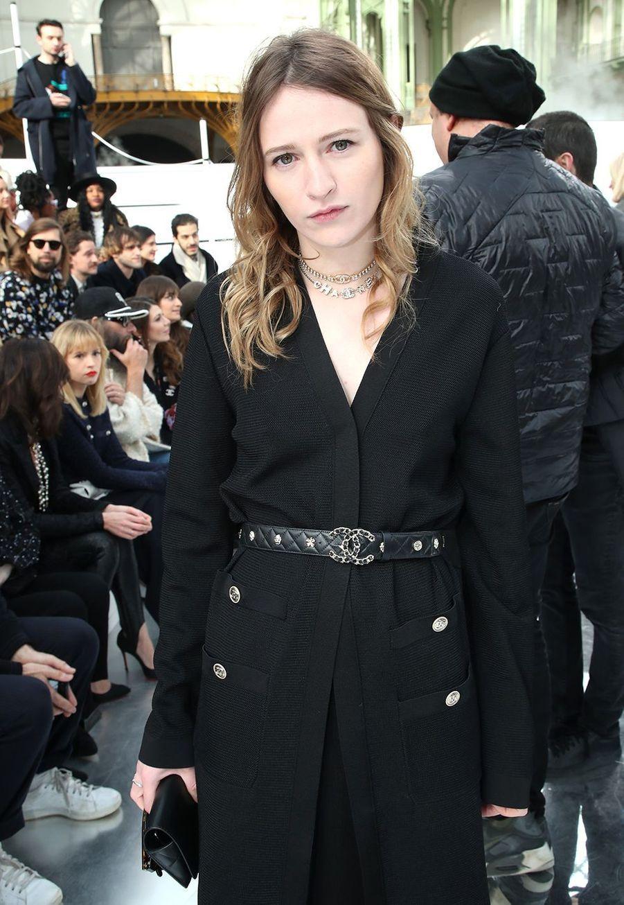 Christa Theretau défilé Chanelà Paris le 3 mars 2020