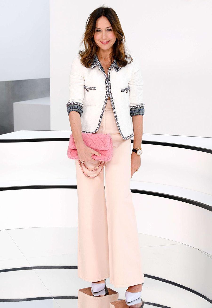 Elsa Zylbersteinau défilé Chanelà Paris le 3 mars 2020