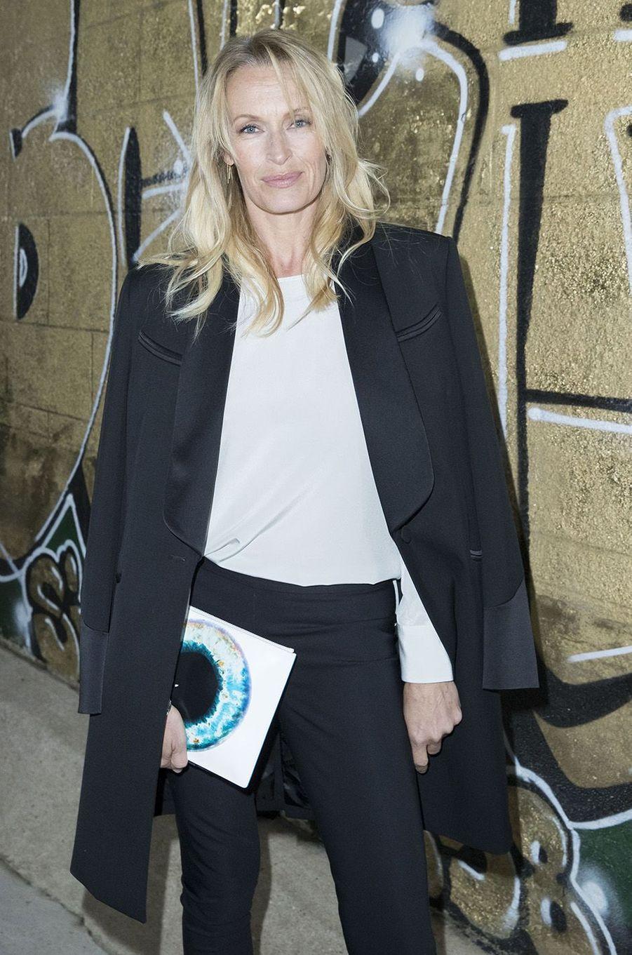 Estelle Lefébure à l'inauguration de l'exposition Boucheron à la Monnaie de Paris, le 11 janvier 2018.