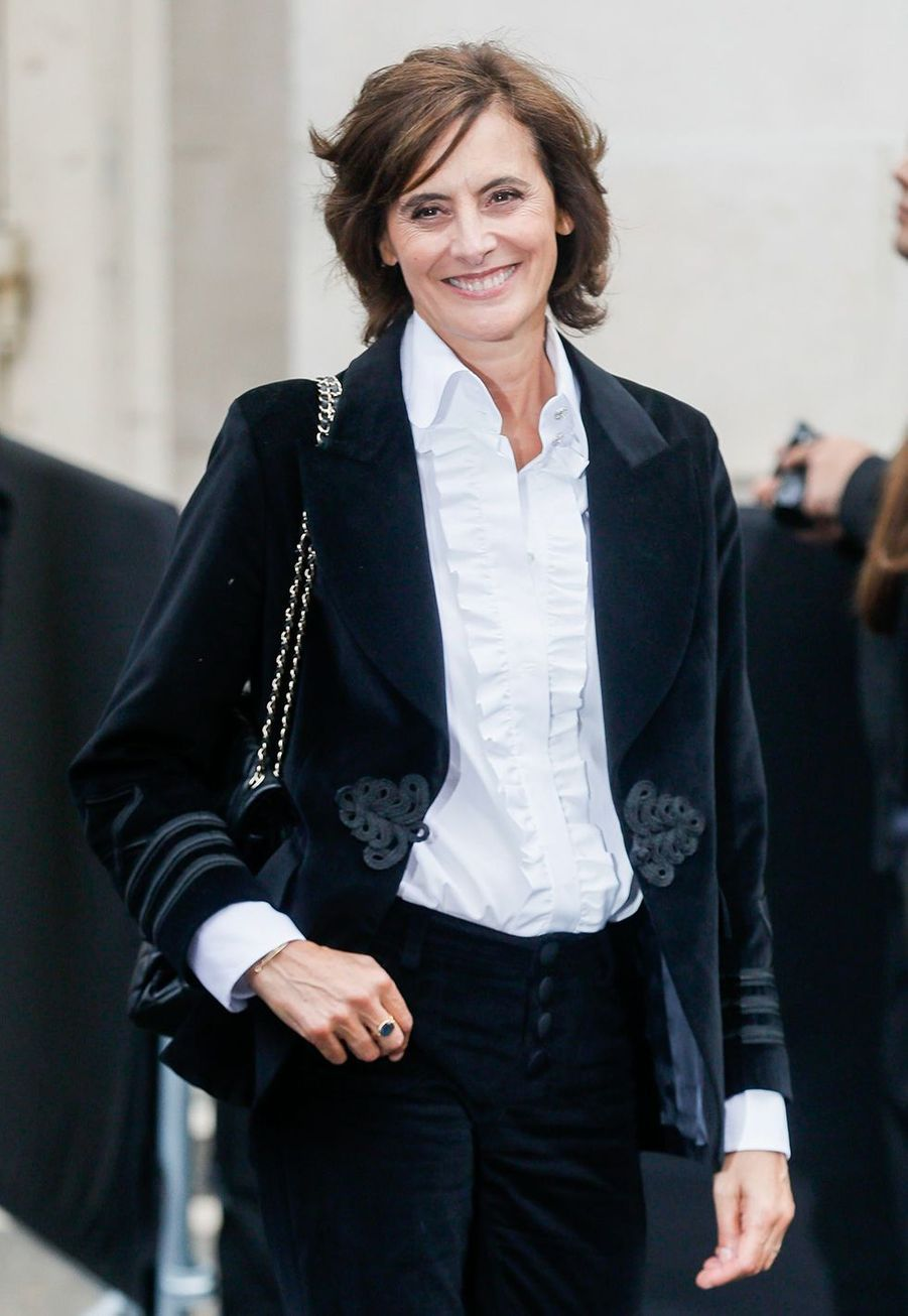 Inès de la Fressangeau défilé Chanel à Paris le 1er octobre 2019