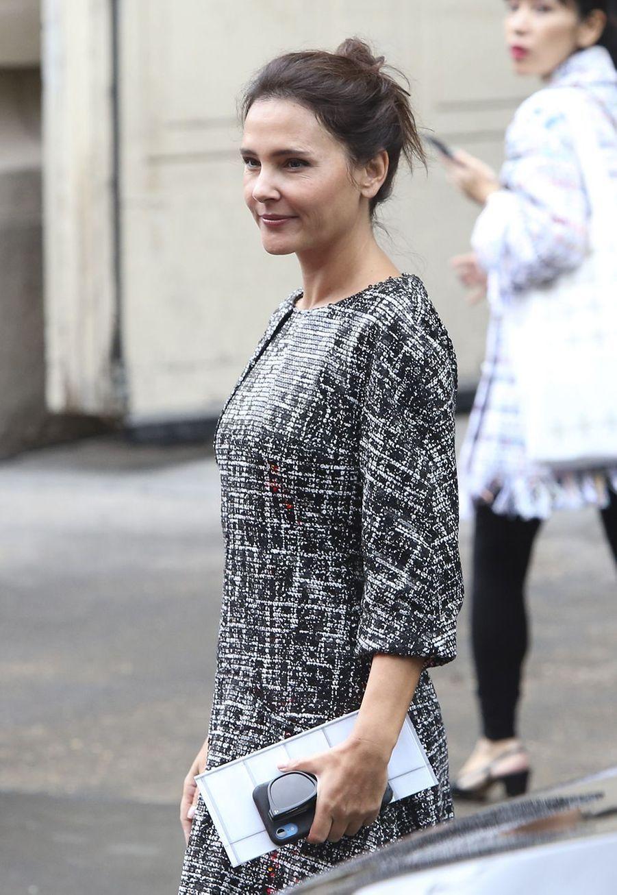 Virginie Ledoyenau défilé Chanel à Paris le 1er octobre 2019