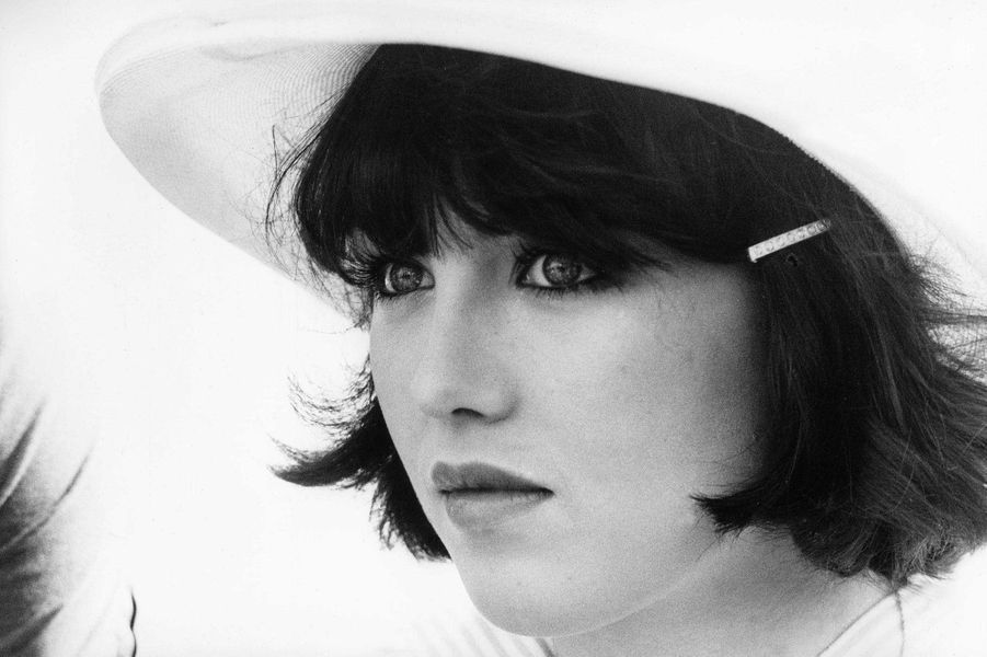 Isabelle Adjani à Cannes en 1976.