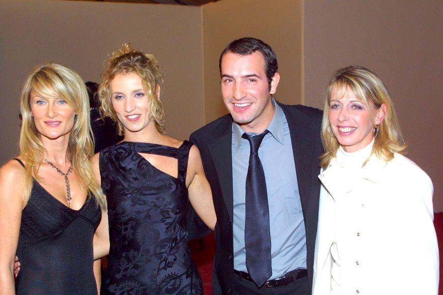 Isabelle Camus avec Alexandra Lamy et Jean Dujardin