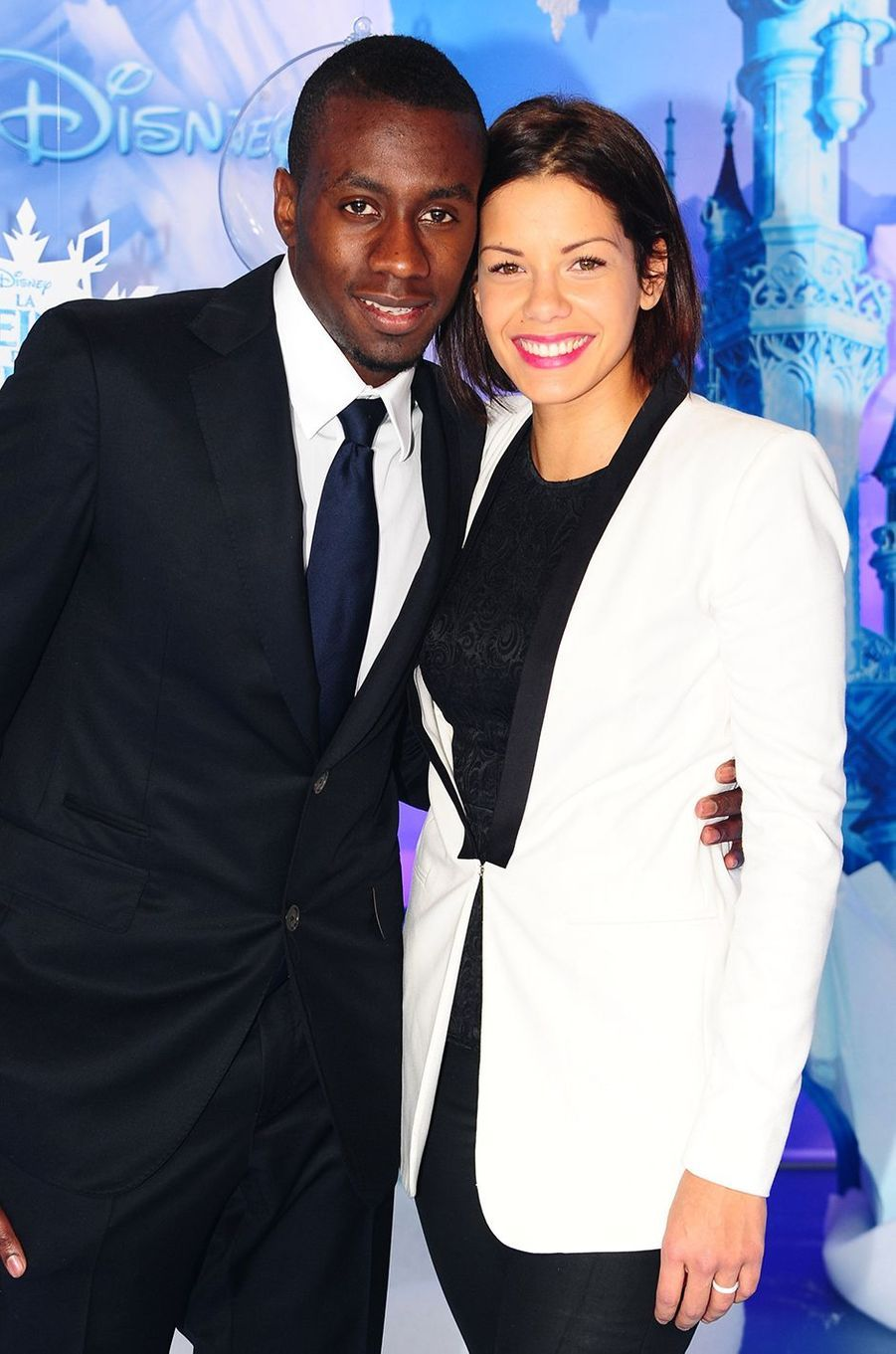 Blaise et Isabelle Matuidide l'avant-première de «La Reine des Neiges» à Disneyland Paris en novembre 2013