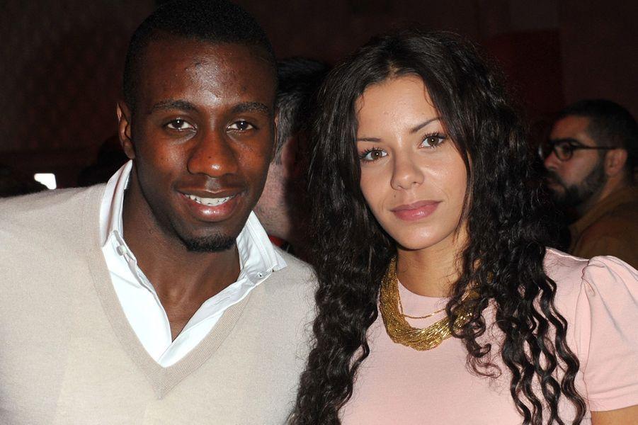 Blaise et Isabelle Matuidi lors d'une soirée à Paris en septembre 2013