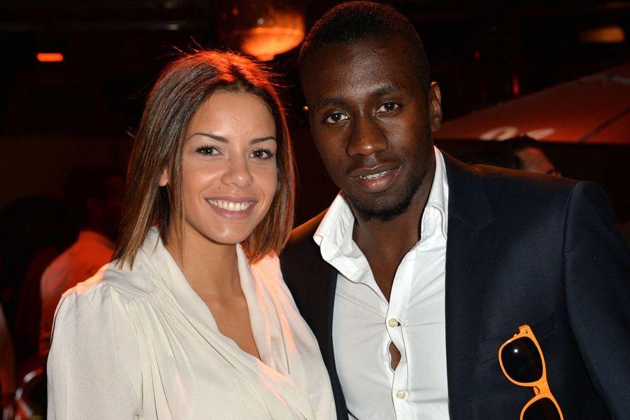 Isabelle et Blaise Matuidi lors d'une soirée à Paris en septembre 2014