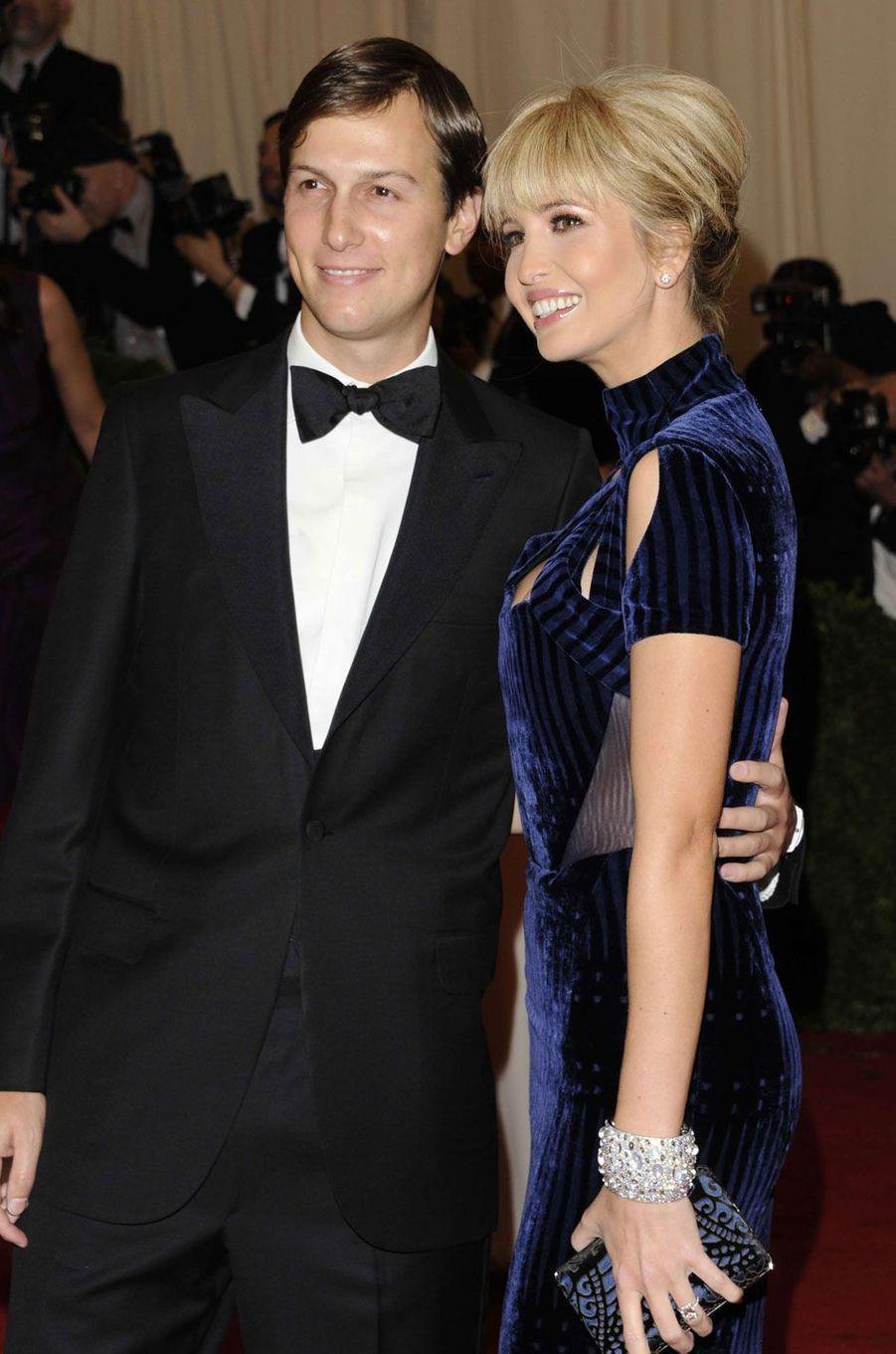 Ivanka Trump et son mari Jared Kushner en 2012