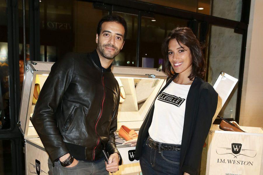 Laurie Cholewa et Tarek Boudali, à Paris, le 2 novembre 2016.