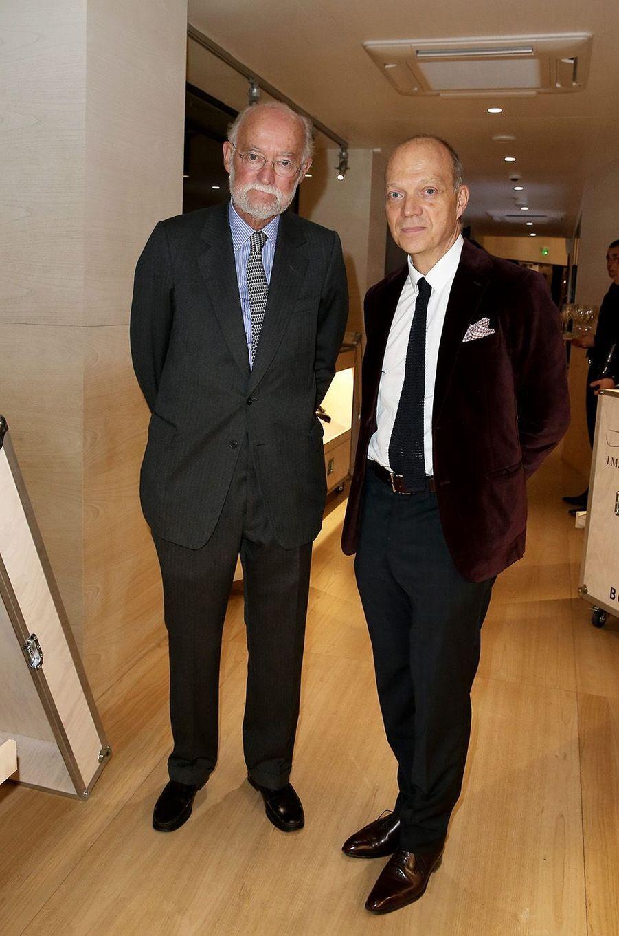 Nicolas Seydoux et Thierry Oriez à Paris, le 2 novembre 2016.