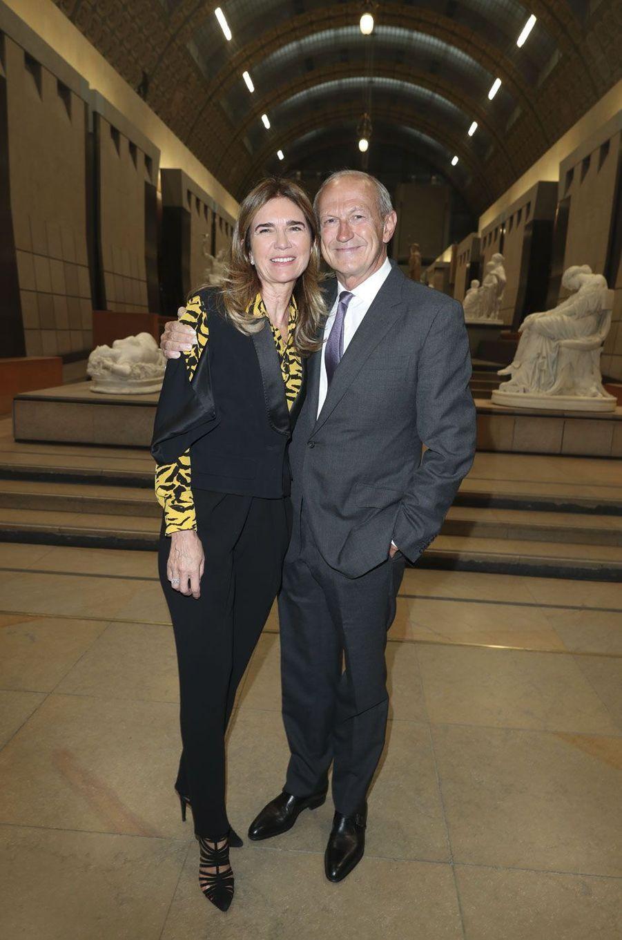 Sophie et Jean-Paul Agon.