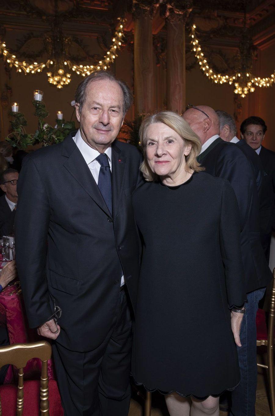 Jean-Marie Rouart, Catherine Pégard.