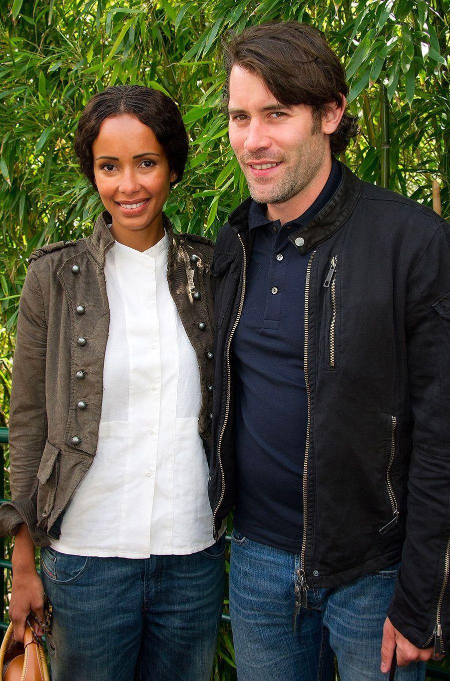 Sonia Rolland et Jalil Lespert en mai 2011