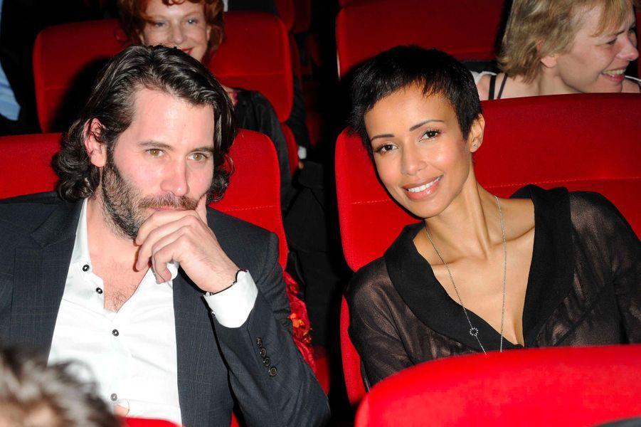 Sonia Rolland et Jalil Lespert en mars 2011