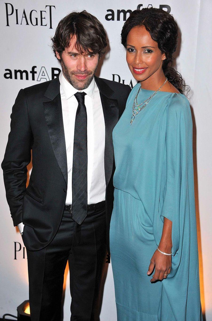 Sonia Rolland et Jalil Lespert en juin 2011