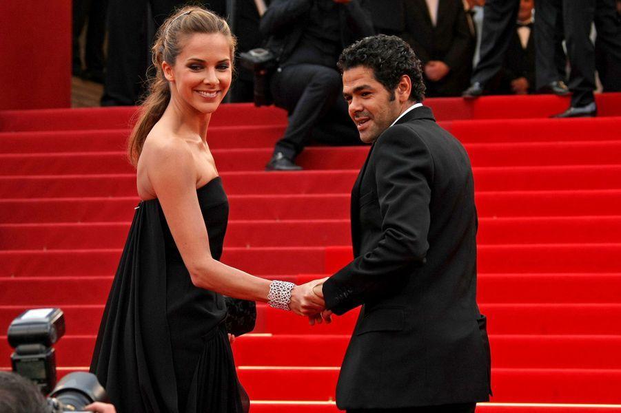 Jamel Debbouze et Mélissa Theuriau en 2010 au festival de Cannes