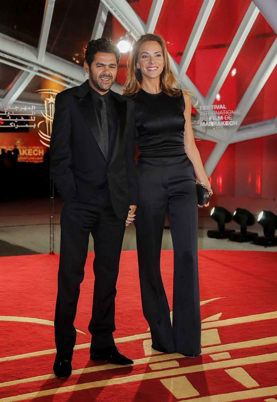 Jamel Debbouze et Mélissa Theuriau au festival international de Marrakech en 2013