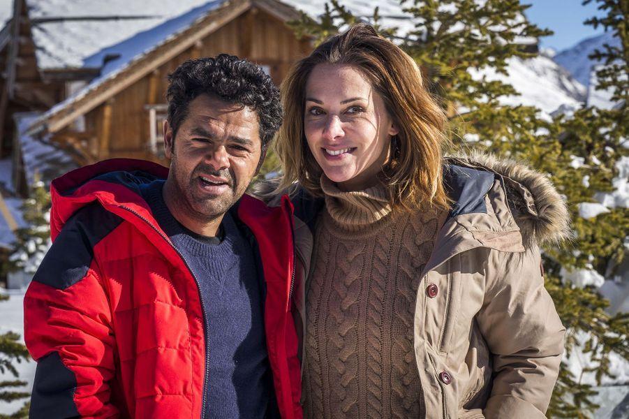 Jamel Debbouze et Mélissa Theuriau au festival de l'Alpe d'Huez en 2016