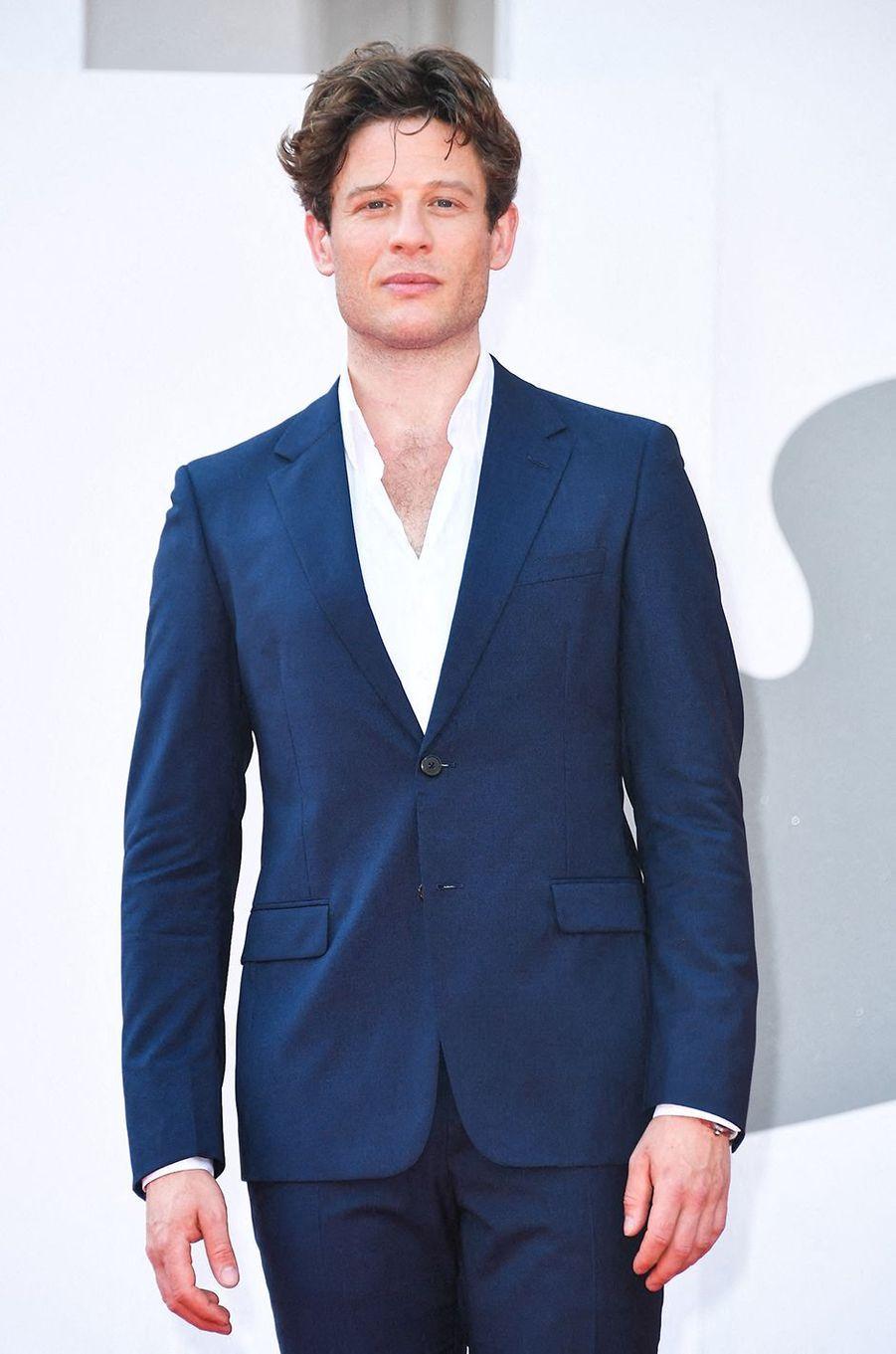 James Norton, 35 ans, vu plus récemment en 2020 dans«Les Filles du docteur March»