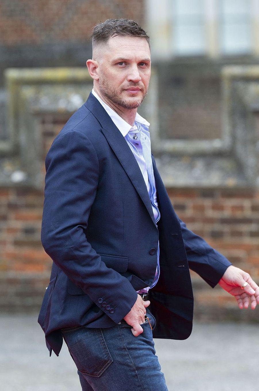 Tom Hardy, 43 ans, vu plus récemment en 2020 dans«Capone» et dans la série«Peaky Blinders»