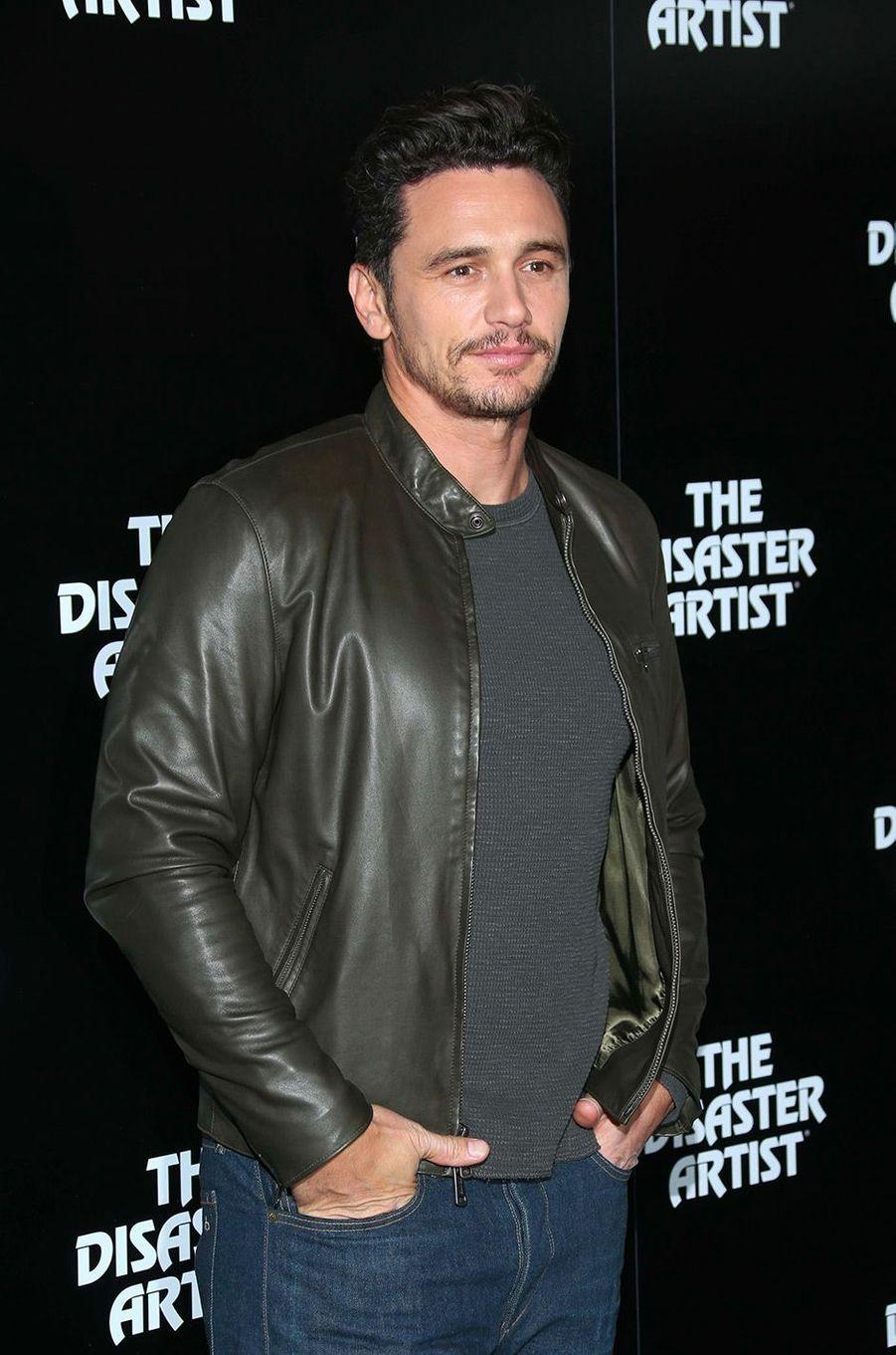 """James Franco à l'avant-première de """"The Disaster Artist"""" à Londres"""