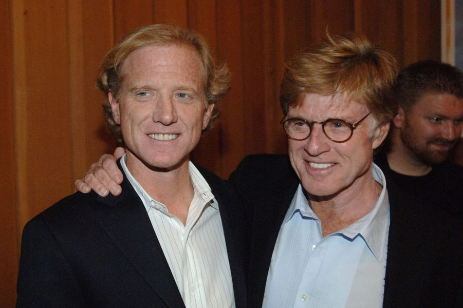 James et Robert Redford lors d'un gala «Share the Beat» à Sundance en 2006