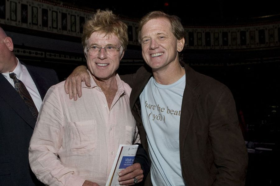 Robert et James Redford lors d'un gala «Share the Beat» à Atlanta en 2008