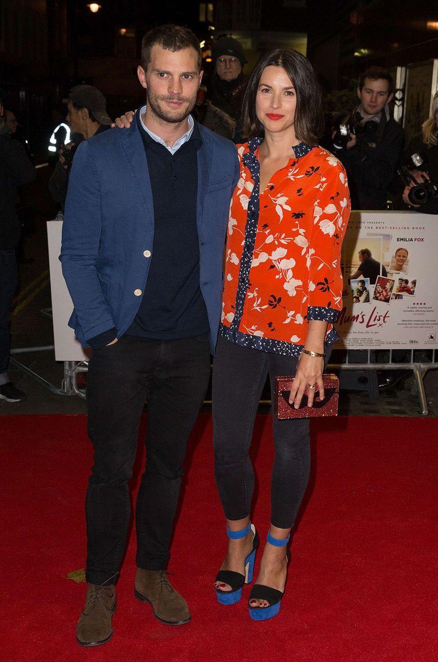 Jamie Dornan et Amelia Warner, une belle histoire d'amour