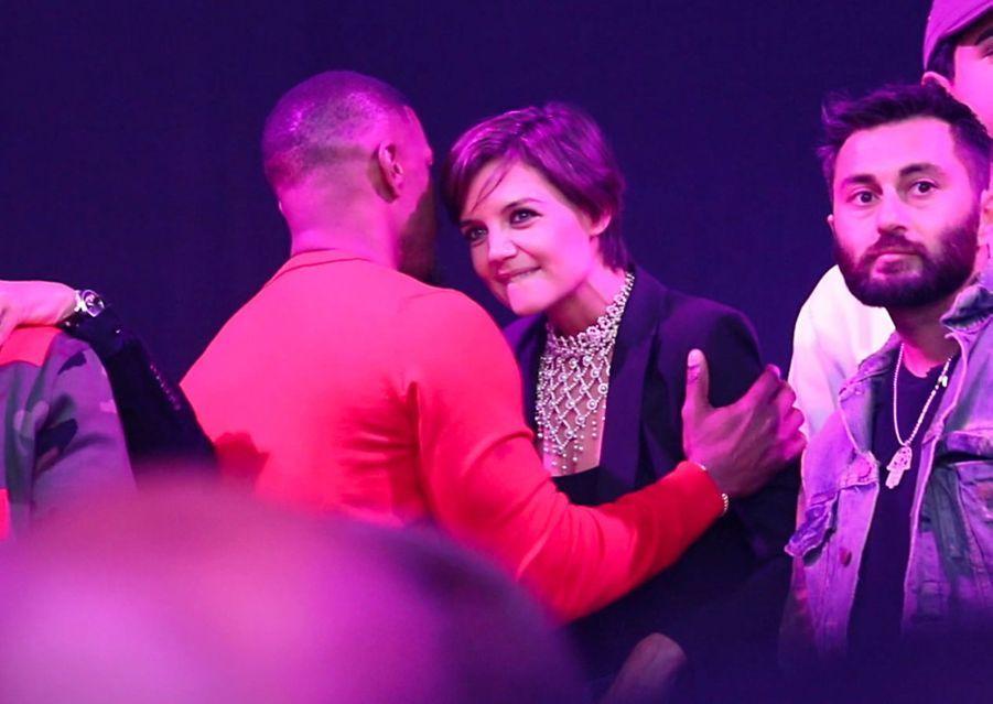 Jamie Foxx a célébré son anniversaire aux côtés de Katie Holmes à Los Angeles, le 14 décembre 2017
