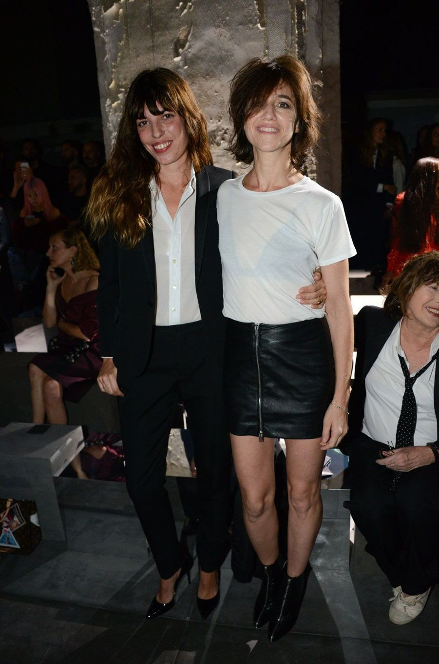 Lou Doillon et Charlotte Gainsbourg