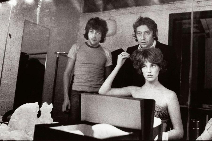 """Paris 1970 avant la photo de Tony Frank pour la pochette de l'album """"Histoire de Melody Nelson"""""""