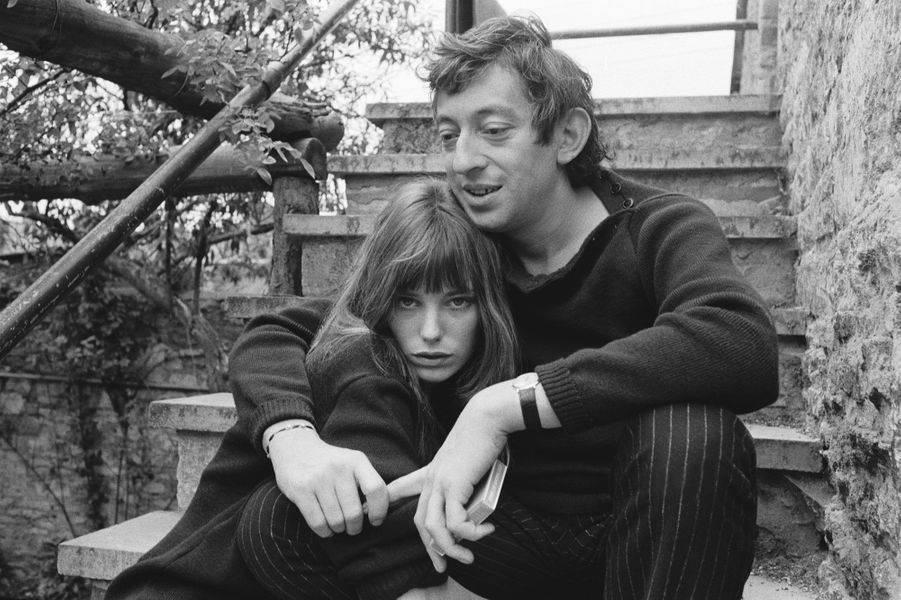Jane Birkin et Serge Gainsbourg en 1969