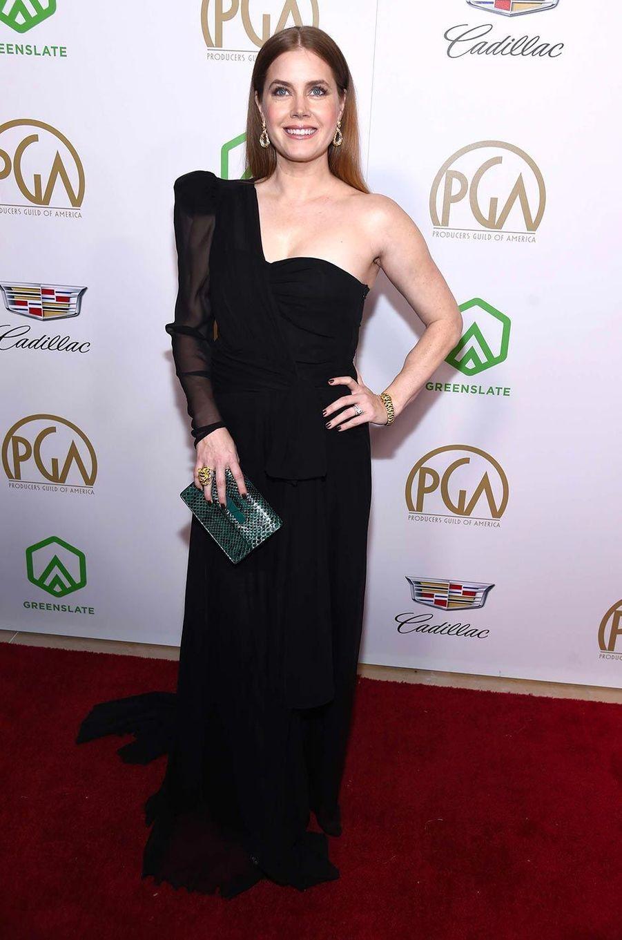 Amy Adamsaux Producers Guild Awards, le 19 janvier 2019.
