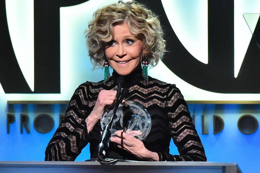 Jane Fondaaux Producers Guild Awards, le 19 janvier 2019.