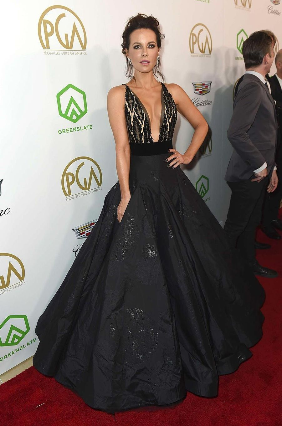 Kate Beckinsaleaux Producers Guild Awards, le 19 janvier 2019.